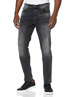 G-STAR RAW Herren 3301 Fit Slim Jeans, Schwarz (Antic Charcoal B479-A800), 29W / 32L von G-STAR RAW