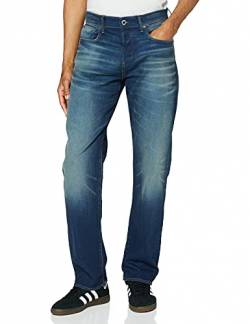 G-STAR RAW Herren 3301-Relaxed Jeans, Blau (Worker Blue Faded A088-A888), 30W / 32L von G-STAR RAW