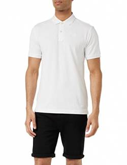 G-STAR RAW Herren Dunda Slim Polo S/s Poloshirt, white 110, Medium (Herstellergröße:M) von G-STAR RAW
