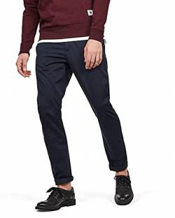 G-STAR RAW Herren Vetar Slim Chino Hose, Blau (Mazarine Blue 5126-4213), 29W / 32L von G-STAR RAW