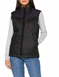G-STAR RAW Damen Jacket Attacc heatseal quilted hdd, Dk Black C470-6484, Medium von G-STAR RAW