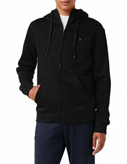 G-STAR RAW Mens Premium Core Zip Hooded Sweatshirt, dk Black C235-6484, XL von G-STAR RAW