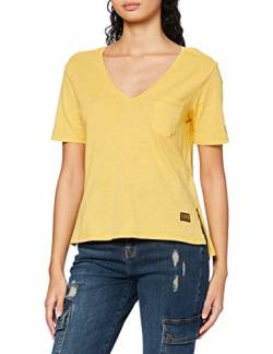 G-STAR RAW Womens Core Ovvela T-Shirt, dk Gold Htr 4107-8074, S von G-STAR RAW