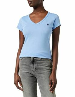 G-STAR RAW Womens Eyben Slim T-Shirt, Delta Blue 2757-1852, XS von G-STAR RAW