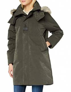 G-STAR RAW Womens Tech pdd HDD Faux fur Long JKT wmn Jacket, Asfalt C408-995, Large von G-STAR RAW