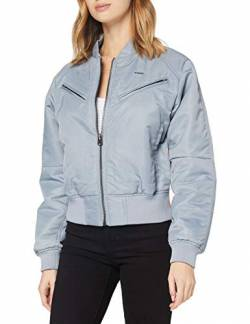 G-STAR RAW Womens Zip Pocket Cropped Jacket, dim Grey A521-3885, L von G-STAR RAW