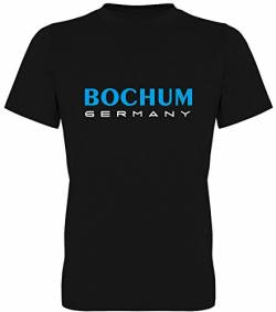 Bochum Germany Fan-T-Shirt Unisex Herren (078.376) (XL) von G-graphics