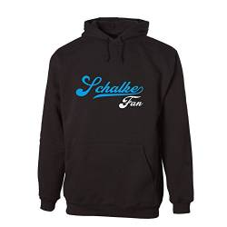 G-graphics Schalke Fan Hooded Sweat Hoodie 078.584 (L) von G-graphics