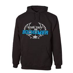 G-graphics Stolzer Bochumer Hooded Sweat Hoodie 078.556 (XL) von G-graphics
