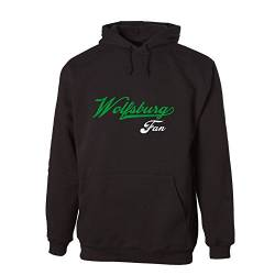 G-graphics Wolfsburg Fan Hooded Sweat Hoodie 078.594 (L) von G-graphics