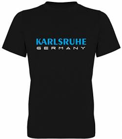 Karlsruhe Germany Fan-T-Shirt Unisex Herren (078.346) (XL) von G-graphics