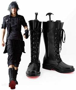 Game Final Fantasy Xv Cosplay Noctis Lucis Caelum Cosplay Boots Adult Men Shoes Halloween Christmas Party Accessories 37 von GJBXP