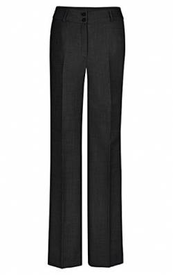 GREIFF Damen-Hose Regular Fit, modern with 37,5, Regular fit, 1357, schwarz, Größe 52 von GREIFF