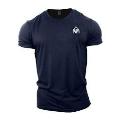 GYMTIER Gym T-Shirt | Herren Bodybuilding Training Top Kleidung Plain Branded von GYMTIER