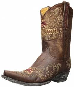 Gameday Boots NCAA Texas State Bobcats Damen 25,4 cm, Damen, SWT-L221, Messing, 11 B (M) US von Gameday Boots