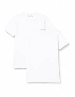 Garage Herren T-Shirt 2 er PackRegular Fit 103-2-Pack RN T-Shirt Regular fit, Gr. L / 52, Weiß (White 100) von Garage