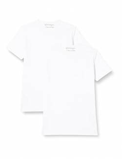 Garage Herren T-Shirt 2 er PackRegular Fit 103-2-Pack RN T-Shirt Regular fit, Gr. XXXL / 58, Weiß (White 100) von Garage