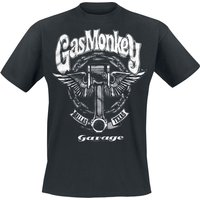 Gas Monkey Garage Big Piston  T-Shirt  schwarz von Gas Monkey Garage