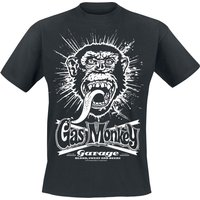 Gas Monkey Garage Explosion  T-Shirt  schwarz von Gas Monkey Garage