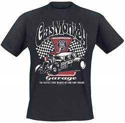 Gas Monkey Garage Garage T-Shirt schwarz S von Gas Monkey Garage