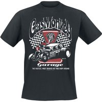 Gas Monkey Garage Garage  T-Shirt  schwarz von Gas Monkey Garage