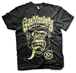 Gas Monkey Garage T-Shirt Logo Black-3XL von Gas Monkey Garage