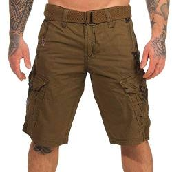 Geographical Norway Herren Shorts Panoramique Camo Kaki XXL von Geographical Norway