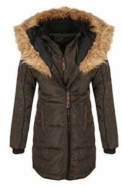 Geographical Norway Jacke - Beautiful Lady - KAKI - L von Geographical Norway
