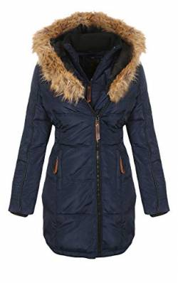 Geographical Norway Jacke - Beautiful Lady - Navy - XL von Geographical Norway