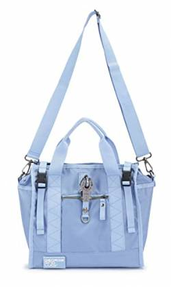 George Gina & Lucy Re-Nylon Show Ping Hand Bag Liverpool Blue von George Gina & Lucy