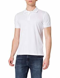 Geox Mens M Sustainable Polo Shirt, Optical White, M von Geox
