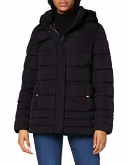 Geox Womens W Aneko Down Coat, Black, 48 von Geox