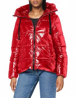 Geox Womens W EMALISE Parka, Ribbon RED, 36 von Geox