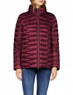 Geox Womens W Jaysen Quilted Jacket, Dark Berries, 36 von Geox