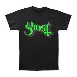 Ghost Herren Green/Grey Keyline Logo T-Shirt, schwarz, XL von Ghost