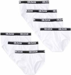 Gildan Platinum Men's Briefs, White, Medium, 7-Pack von Gildan