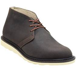 Golden Fox Enzo Herren Chukka Boot Casual, (D.brown), 39.5 EU von Golden Fox