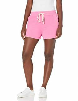 Goodthreads Fleece Heritage Drawstring Athletic-Shorts, Rosa Nelke, L von Goodthreads