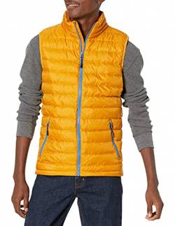 Goodthreads Packable Down Vest, Gold, Small von Goodthreads
