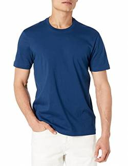 Goodthreads Short-Sleeve Crewneck Cotton T-Shirt, Royal Blue, Small von Goodthreads