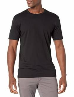 Goodthreads Short-Sleeve Crewneck Cotton T-Shirt, black, Medium von Goodthreads