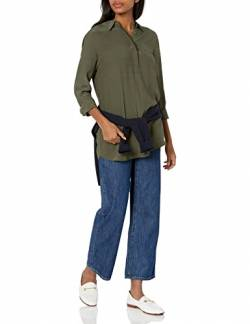 Goodthreads Viscose Popover Tunic fashion-t-shirts, Deep Depths, US S (EU S - M) von Goodthreads
