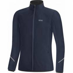 GORE WEAR R3 Women Partial Gore-Tex Infinium Jacke Damen (Dunkelblau 40) Windjacken von Gore Wear