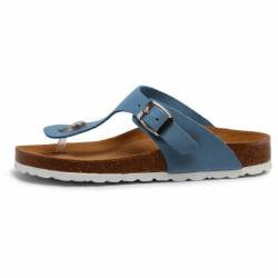 Grand Step Shoes - Women's Mana - Sandalen Gr 38 braun/blau von Grand Step Shoes
