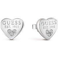 Damen Guess All About Shine Ohrringe rhodiniert UBE82082 von Guess Jewellery