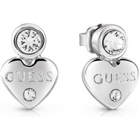 Damen Guess Guessy Ohrringe rhodiniert UBE82001 von Guess Jewellery