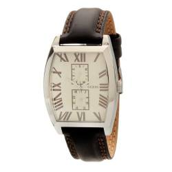 Guess Herren-Armbanduhr Mens Fashion Analog Leder W85066G3 von Guess