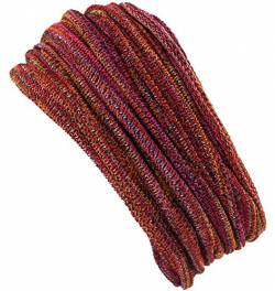 Guru-Shop Magic Hairband, Dread Wrap, Schlauchschal, Stirnband, Mütze, Herren/Damen, Loopschal Orange/rot, Baumwolle, Size:One Size, Stirnbänder Alternative Bekleidung von GURU SHOP