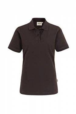 "HAKRO Damen Polo-Shirt ""Top"" 224 - chocolate - Größe: XL von HAKRO"
