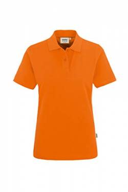 "HAKRO Damen Polo-Shirt ""Top"" 224 - orange - Größe: M von HAKRO"